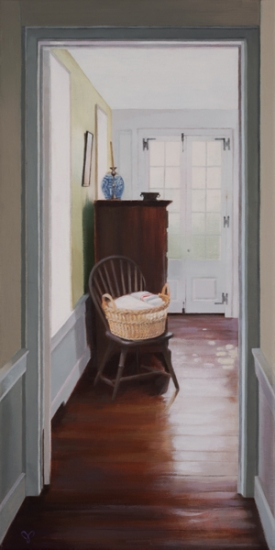 <strong>Laundry Basket</strong><br />Oil on Canvas<br /><br /><br /><br />