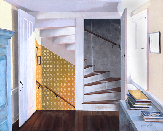 <strong>Pie Stairs</strong><br />Oil on linen<br />SOLD<br /><br /><br />