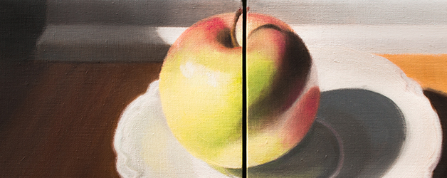Apple Diptych